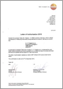 Thumb-Testo service - LOA 2015